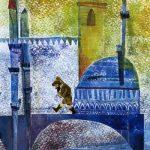 """""""Karagöz, las sombras y Estambul"""" Ilustración: Cristina Sánchez Reizábal"""