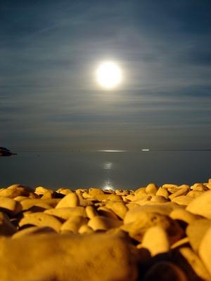 «Nagara» (sin embargo), sol a media noche