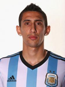 7 Angel Di Maria. Selección de Argentina