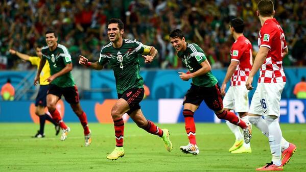 @FIFAWorldCup: México 3-1 win over Croacia in Recife.