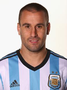 Rodrigo Palacio, jugador de la selección de Argentina en Brasil 2014
