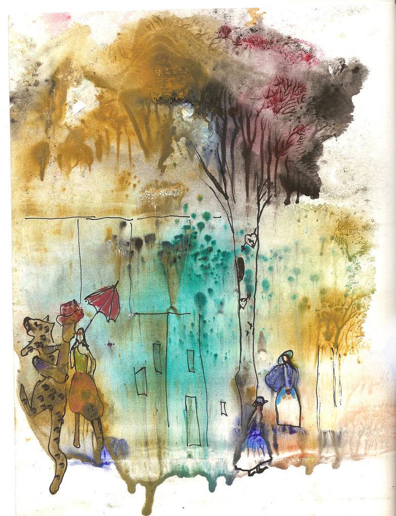 'Las ciudades invisibles' | ilustración de Giagarofalo