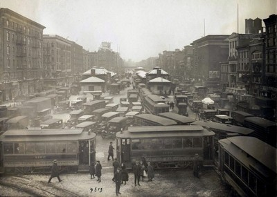 Delancey Street, circa 1900 | hoto: NYC Municipal Archives