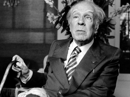 PARIS - MAY 20: Argentinian author Jorge Luis Borges poses on May 20, 1979 in Paris,France. (Photo by Ulf Andersen/Getty Images)