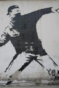 Graffiti de Bansky en Bethlehem