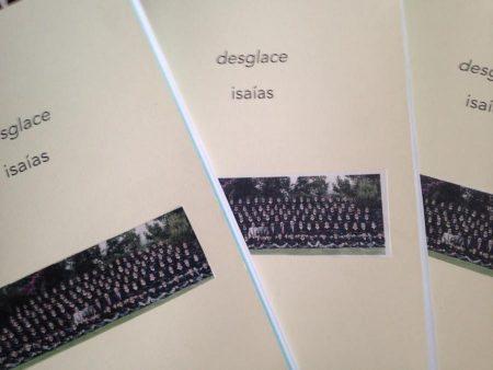 desglace isaías, libro de poemas de Jorge Posada