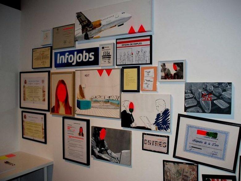 """collage """"Elestigma del Parado"""", de Alejandra de a Torre jovenes empleo"""